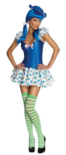 Blueberry Muffin Adult Costume - Blueberry Muffin Costume - Medium - Dress Size 10-12