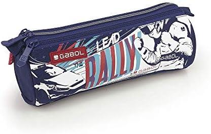 Gabol - Speed | Estuche Azul con 3 Cremalleras: Amazon.es: Equipaje