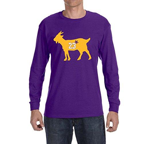 ba4a4523a0a9 Deetz Shirts PURPLE Los Angeles James Goat Long Sleeve Shirt – NBAMeme.com