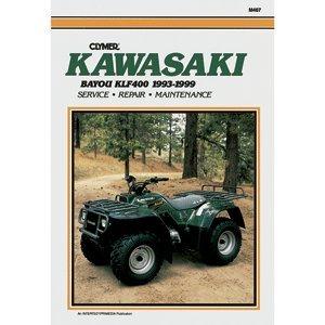 "CLYMER KAWASAKI BAYOU KLF400 1993-1999 M467 ""Prod. Type: Winterizing"""