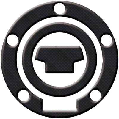 Keiti Carbon Fiber-5 BOLT Gas Cap Protector for Yamaha 2000~2011 (RY-002CF)