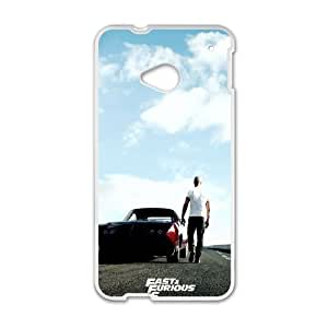 HTC One M7 Cell Phone Case White Fast And Furious 6 SLI_621667