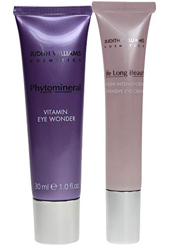 Judith Williams Vitamin Eye Wonder 30ml + Life Long Beauty Augen Intensiv Creme 15ml