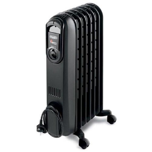 delonghi trv0715tb vento oil filled radiator with high. Black Bedroom Furniture Sets. Home Design Ideas