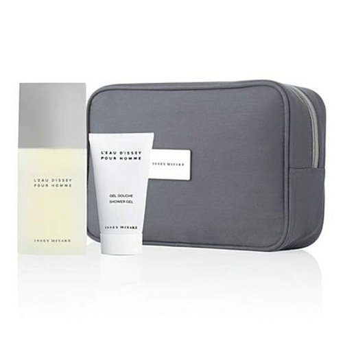 Issey Miyake L'Eau d'Issey Pour Homme Gift Set 2.5oz (75ml) EDT + 1.7oz (50ml) Shower Gel