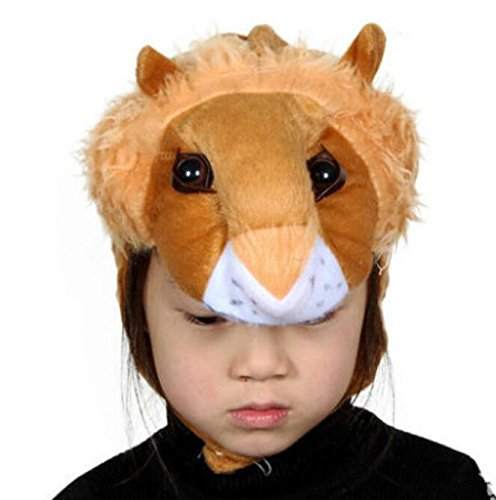 Goodscene Party decoration accessories Cute Kids Performance Accessories Cartoon Animal Hat (Lion) by Goodscene