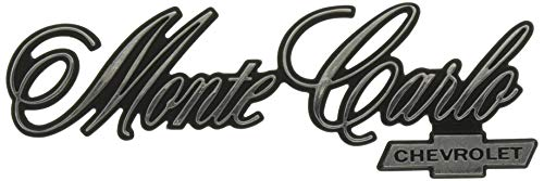 Trim Parts 1675 Rear Panel Emblem (1976-1977 Monte Carlo/Chevrolet)
