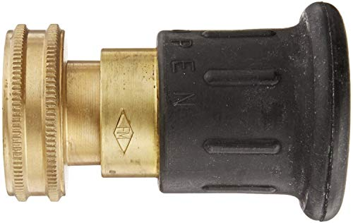Dixon Valve HPFN150NST Brass Fire Equipment, Higher Pressure Industrial Fog Nozzle, 1-1/2'' NST (NH) Thread by Dixon Valve & Coupling (Image #1)