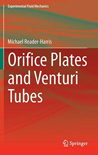 Orifice Plates and Venturi Tubes (Experimental Fluid Mechanics)