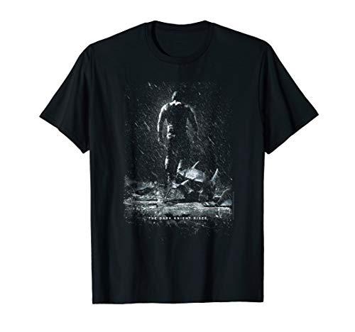 Batman Dark Knight Rises Bane Rain Poster T Shirt