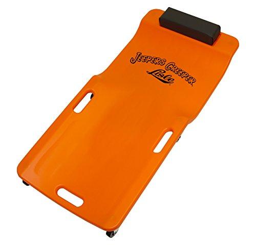 Lisle 93202 Orange Neon Low Profile Plastic Creeper