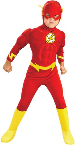 Kids Hallowen Costumes (Deluxe Muscle Chest Flash Costume - Small)