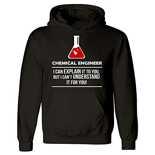 Engineer Occupations Mens Hoodie - Bricke Chemical Engineer I Can Explain It Occupation - Hoodie Black