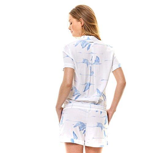 Azul Mujer Gaastra Pantalón Imperio Corte Para 6nOHBqHX1