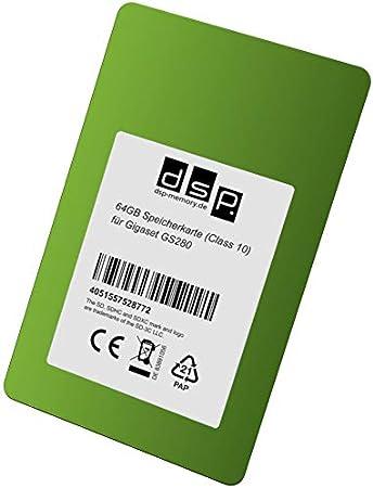 Dsp Memory 64gb Speicherkarte Für Gigaset Gs280 Computer Zubehör
