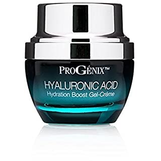 Progenix Hyaluronic Acid Cream. Moisturizing facial moisturizer with Hyaluronic Acid for dry skin, dark spots, and wrinkles. 1oz.
