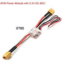 BangBang APM Power Module with 5.3V DC BEC Available with T or XT60 (1Pc: Plug: XT60)