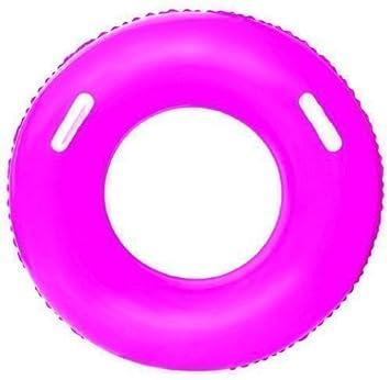Hinchable neumático tubo flotador (rosa # 36084): Amazon.es ...