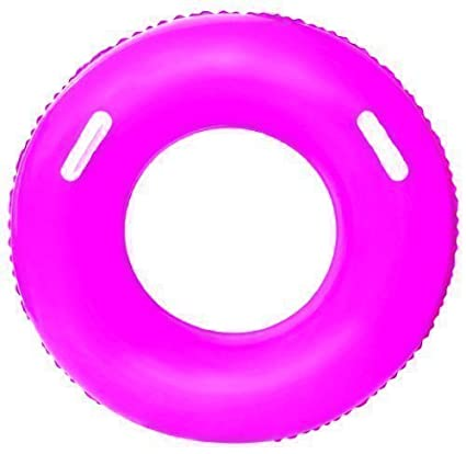 Hinchable neumático tubo flotador (rosa # 36084)