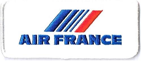 刺繍ワッペン 航空会社パッチ AIR FRANCE