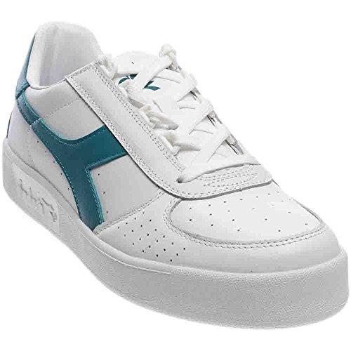 Diadora Männer B. Elite Court Schuh Weiß / Hafenblau