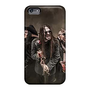 Anti-Scratch Hard Phone Covers For Apple Iphone 6s Plus With Customized High Resolution Finntroll Band Pattern KerryParsons