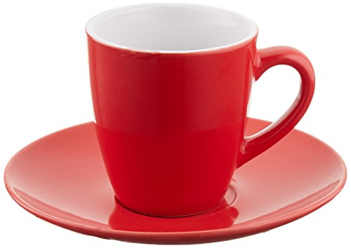 Uniware? Cup 3 Oz and Saucer Expresso Coffee Set of 6