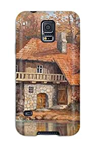 New EOY-1524Qbbefzxo Grist Mill Skin Case Cover Shatterproof Case For Galaxy S5
