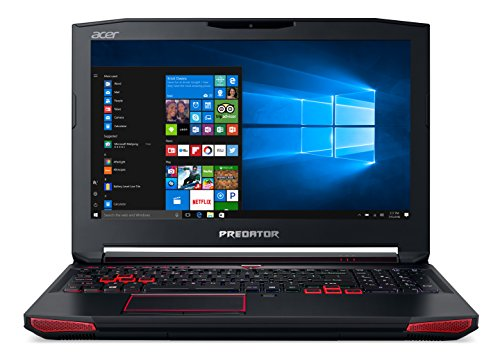 Acer Predator 15 Gaming Laptop, Core i7 Quad-core, GeForce GTX 1060, 15.6