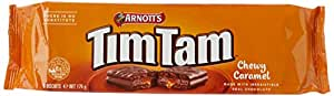 Arnott's Tim Tam Chewy Caramel Biscuits, 175 Grams