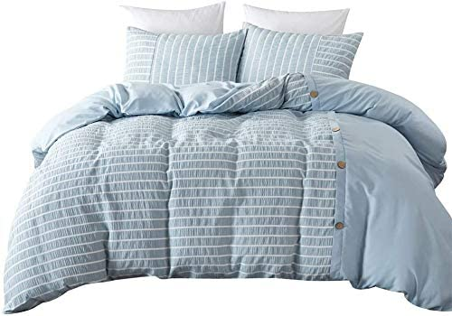 Cotton and Microfiber Quilt Set with Pillow Shams 3-Piece