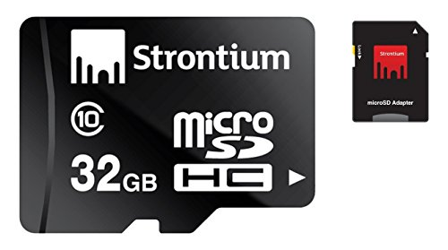 32GB Class 10 Micro memory SD Card with Adaptor (Black) - 8