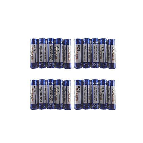A27 27A MN27 MN27BPK GP27A L828 Battery 12V Alkaline Battery (20 Batteries)