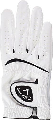 Callaway Wetter Spannweite-Golf Handschuh weiß Left- M