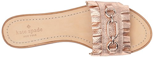 Kate Spade New York Womens Beau Slide Sandal Rose Gold fBwnr