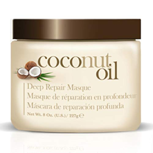 Coconut Oil Hair Care 4 Piece Set – Revitalize and Nourish Dry or Damaged Hair