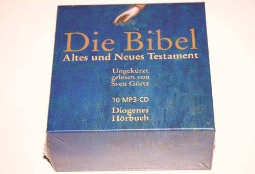 Read Online German Audio Bible on 10 MP3-CD / Die Bibel Altes und Neues Testament / Ungekurzt gelesen von Sven Gortz / Diogenes Horbuch pdf