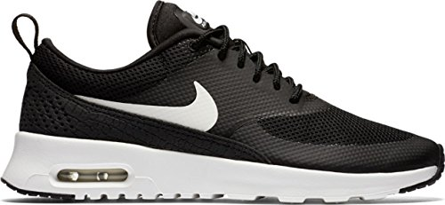 Nike Women's Air Max Thea Black/Summit White Running Shoe 7 Women US
