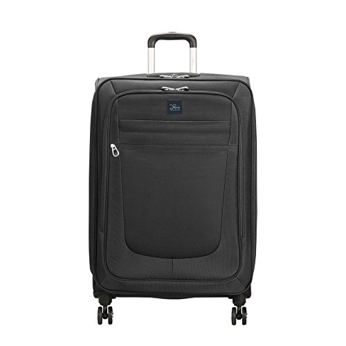 Skyway Deluxe Revel 26-inch Spinner Luggage - Black by Skyway