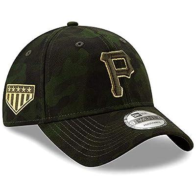 New Era Pittsburgh Pirates 2019 MLB Armed Forces Day 9TWENTY Adjustable Hat - Camo