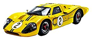 1967 Ford GT MK IV #2 Yellow LeMans 24 Hours Mark Donohue / B.Mclane 1/18 by Shelby Collectibles SC424