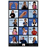 Harris Communications N499 First Signs Language Poster