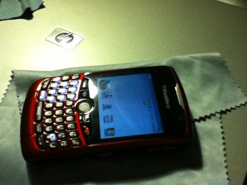 BlackBerry Curve 8330 Verizon CDMA Cell Phone Red