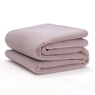 Vellux Original Twin  Blanket, Plum Rose