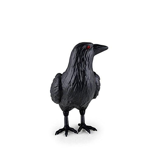 Magic Creations Light Up Standing Crow Halloween Prop ()