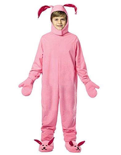 Rasta Imposta Christmas Bunny 7-10 Pink (Leg One Costume Christmas Story)