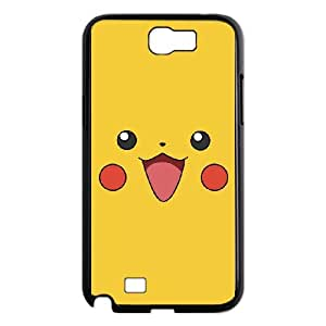 Samsung Galaxy N2 7100 Cell Phone Case Black Pikachu Mfkqw