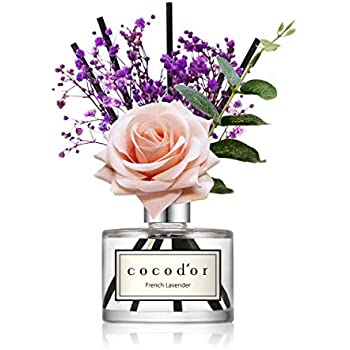 Amazon.com: Cocod'or Rose Flower Reed Diffuser/French