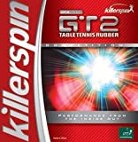 Killerspin 419-11 GT2 Max Table Tennis Rubber, Red
