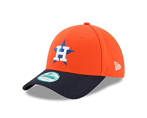New Era MLB Houston Astros Alt The League 9FORTY Adjustable Cap, One Size, Orange by New Era